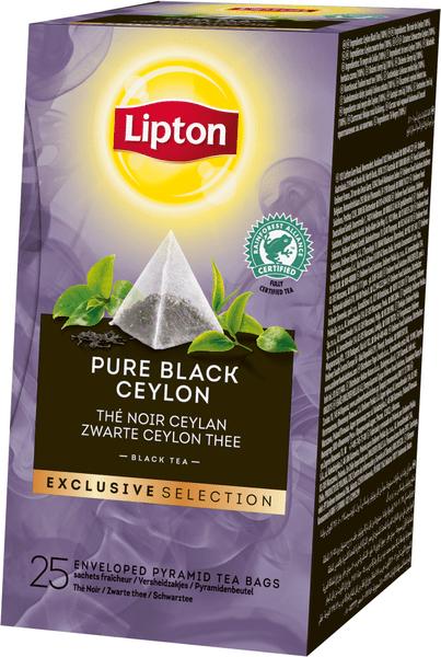 Lipton Exclusive Selection Pure Black Ceylon 25 sáčků