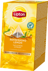 Lipton Exclusive Selection Refreshing Lemon 25 sáčků