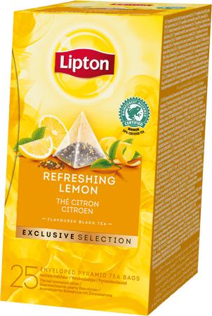 Lipton Exclusive Selection Refreshing Lemon 25 torebek