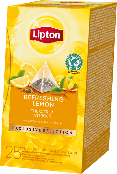 Lipton Exclusive Selection Refreshing Lemon 25 sáčků