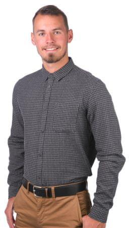 GLOBE pánská košile Barkly L sivá