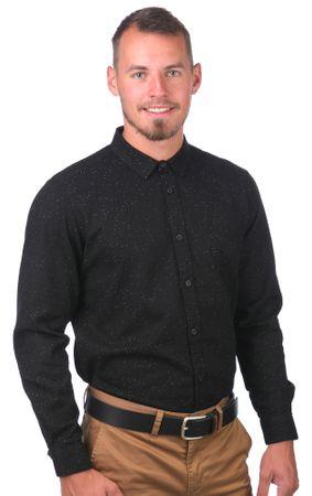 GLOBE moška srajca Knight M črna