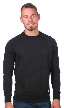 GLOBE bluza męska Quilted Crew L czarny