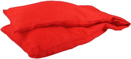 BeautyRelax BR-075 Nahřívací polštářek s výplní levandule, červený