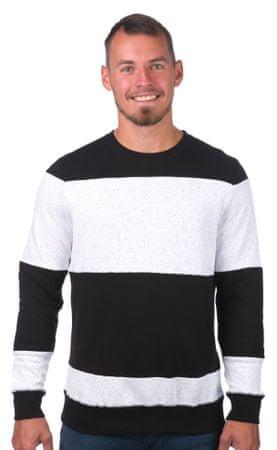 GLOBE férfi pulóver Dust Crew L fehér