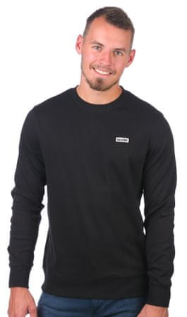 GLOBE férfi pulóver Bar Crew II M fekete