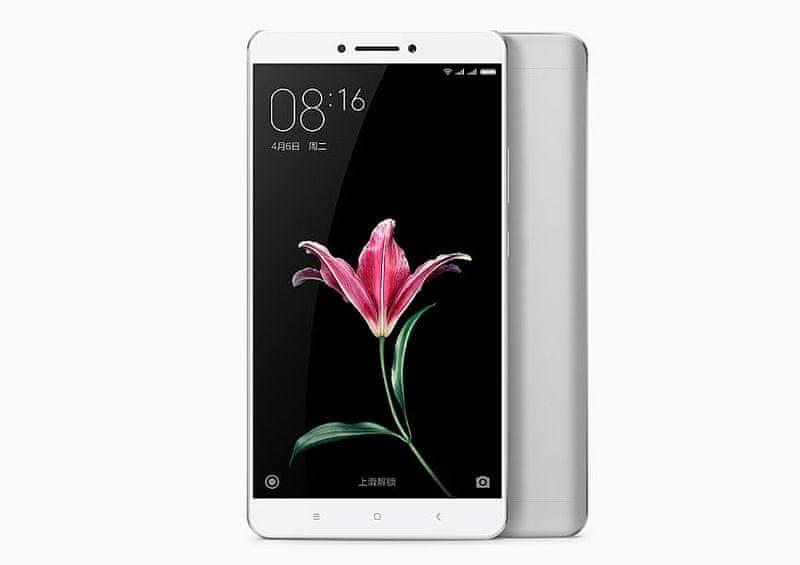 Xiaomi Mi Max, 2GB / 16GB, stříbrný