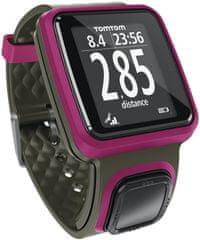 TomTom Runner 2, sötét rózsaszín