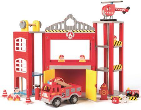 Woody velika gasilska postaja z dodatki