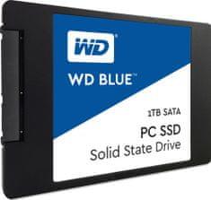 """WD Blue 1TB SSD / interní / 2,5"""" (WDS100T1B0A)"""