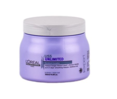 L'Oréal maska Expert Liss Unlimited wygładzająca - 500 ml