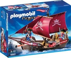 Playmobil 6681 A kékkabátosok őrhajója