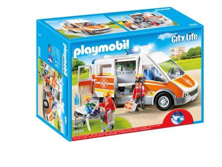 Playmobil 6685 Karetka ze światłem i dźwiękiem