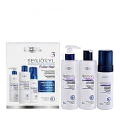 L'Oréal zestaw Serioxyl Fuller Hair 3 – szmpon 250 ml + odżywka 250 ml + pianka 125 ml