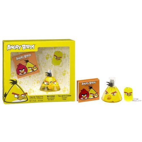 EP Line Angry Birds Yellow Birds - EDT 50 ml + poznámkový bloček + přívěšek