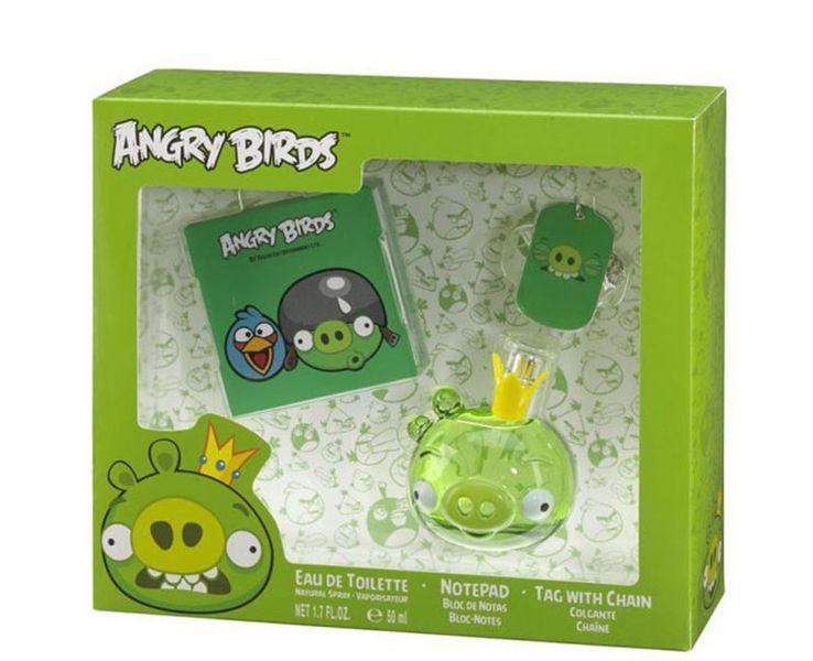 EP Line Angry Birds King Pig - EDT 50 ml + poznámkový bloček + přívěšek