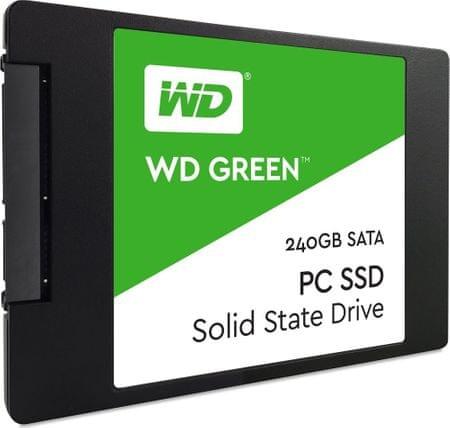 "WD SSD disk Green SATA3  6,35 cm (2,5""), 240 GB (WDS240G1G0A)"