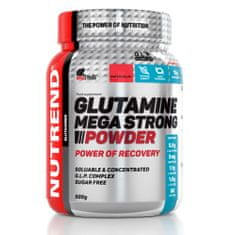 Nutrend Glutamine Mega Strong powder, 500g, Körte