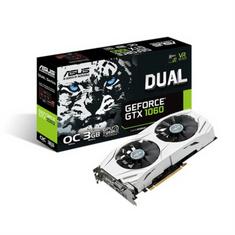 Asus grafična kartica GTX 1060, 3GB GDDR5, PCI (DUAL-GTX1060-O3G)