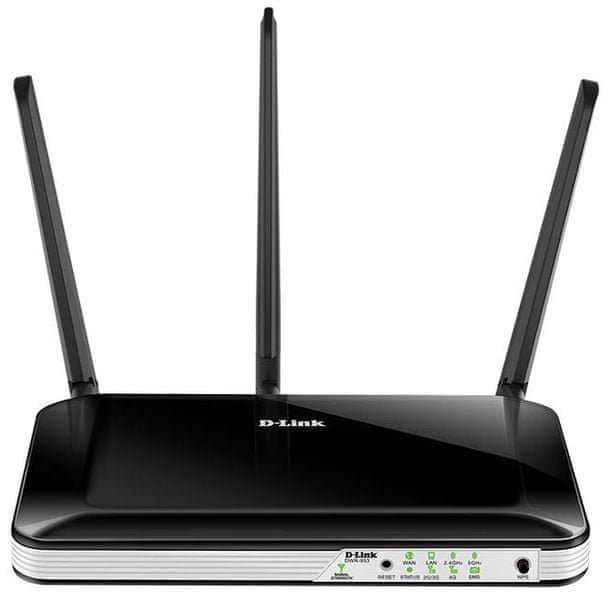 D-Link DWR-953 Wireless AC750 4G LTE Multi-WAN Router