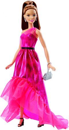 Mattel rjavolaska s čudovito roza obleko
