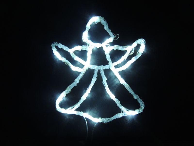 Noel Světelná dekorace do okna Anděl