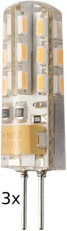 Retlux RLL žárovka LED G4 1,5W 3 ks