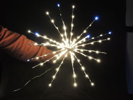 Noel LED světelná Hvězdice teplá bílá