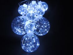 Noel LED řetěz koule 3D 4+5 m
