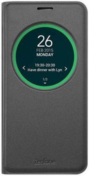 Asus flipové pouzdro, ZenFone Max (ZC550KL), černé