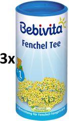 Bebivita Feniklový čaj - instantný, 3 × 200g