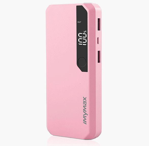 iMyMax Fashion Power 10.000mAh Pink