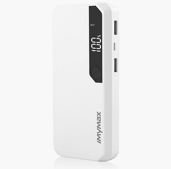 iMyMax Fashion Power 10.000mAh White