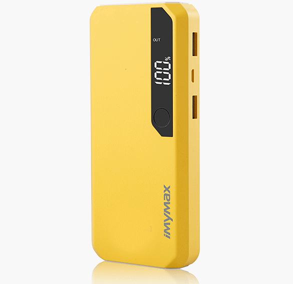 iMyMax Fashion Power 10.000mAh Yellow