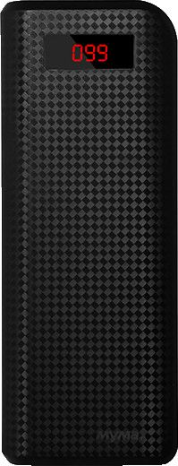 iMyMax Carbon Power Bank 20000mAh Black