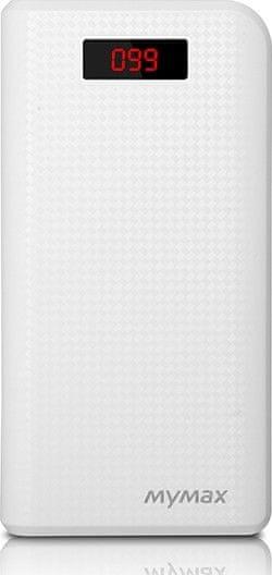 iMyMax Carbon Power Bank 30000mAh White