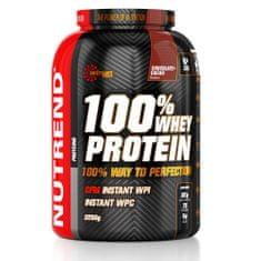 Nutrend 100% Whey Protein, 2250g, Banán
