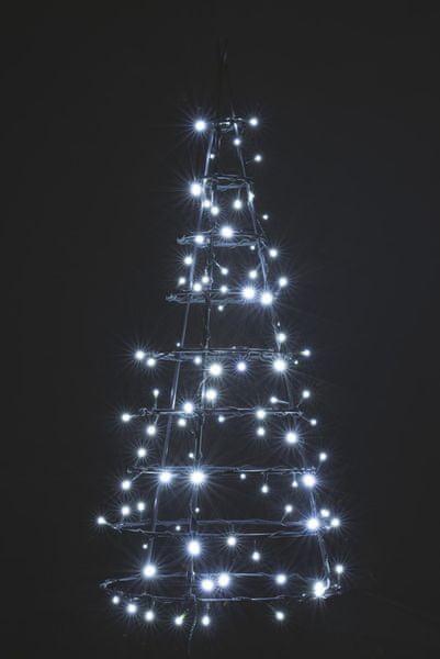Emos Řetěz s časovačem 180 LED 18 m studená bílá