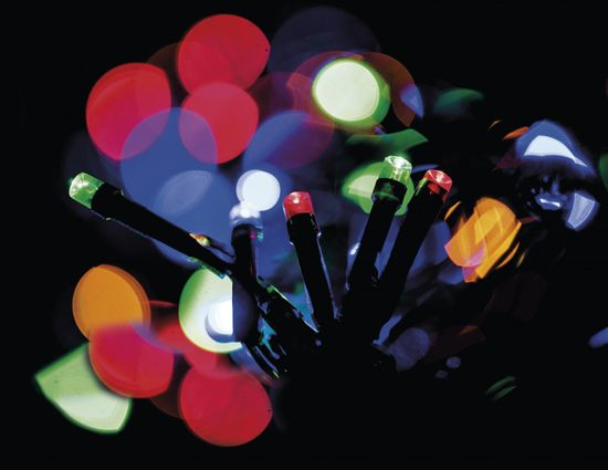 Emos Veriga s časovnikom 500 LED 50+5 m multicolor - Odprta embalaža