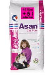 Asan Cat Pure 45 l + 5 l Zdarma