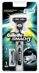 Gillette Mach3 strojek + 2 hlavice