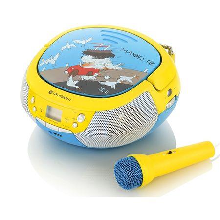 GoGEN otroški radio MAXI, rumeno/moder
