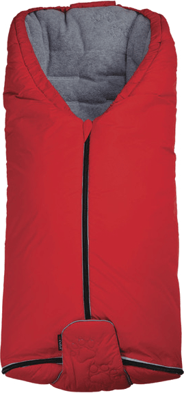Little Angel Fusaky Exklusive Ťapka Outlast, červená/šedá