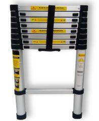E-Coreco Teleskopický ALU žebřík
