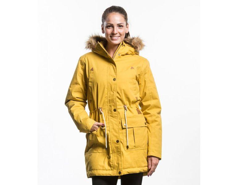 MEATFLY dámská bunda Rainy L žlutá