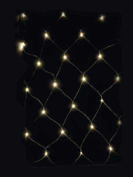 Emos Řetěz s časovačem 180 LED síť teplá bílá