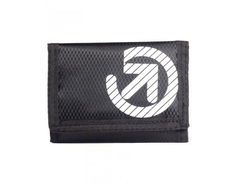 MEATFLY černá unisex peněženka Flipper