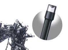 Emos LED řetěz – krápníky, 10m, studená bílá, programy