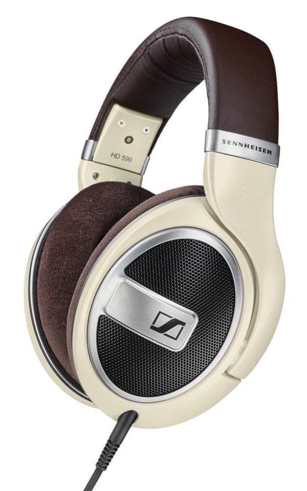 Sennheiser HD 599 sluchátka, slonovinová