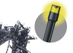 Emos LED řetěz – krápníky, 10m, teplá bílá, programy